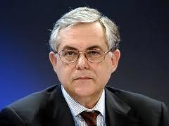 Лукас Пападимос - премьер-министр Греции