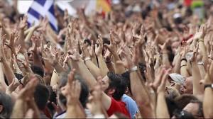 Кризис в Греции. Греция протестует.