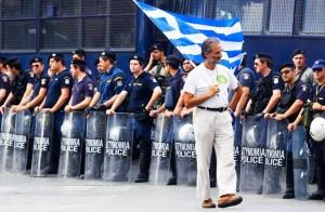 Протесты в Греции не прекращаются