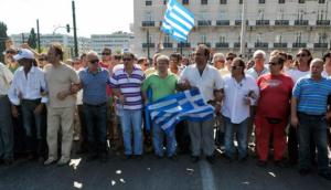 Греция в беде
