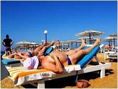 Русские туристы в Греции